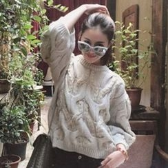 Tulander - Cable-Knit Chunky Sweater
