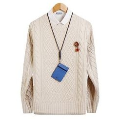 Seoul Homme - Waffle-Knit Top