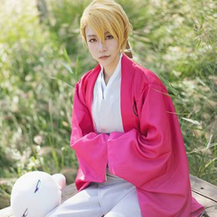 Ghost Cos Wigs - The Morose Mononokean Abeno Haruitsuki Cosplay Costume
