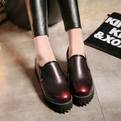 JY Shoes - Platform Loafers