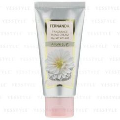 Fernanda - Fragrance Hand Cream Allure Lust (Citrus, White Floral, Musk)
