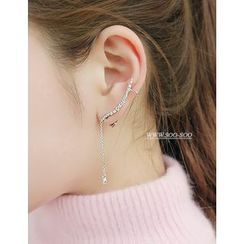 soo n soo - Dangle Ear Cuff (Single)
