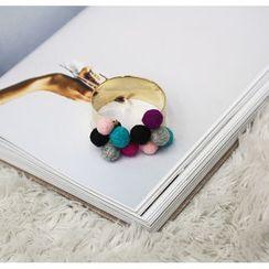 NANING9 - Multicolor Bobble Cuff