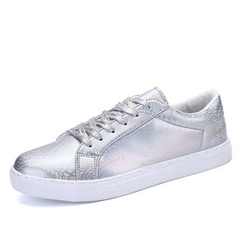 NOVO - Metallic Lace Up Sneakers