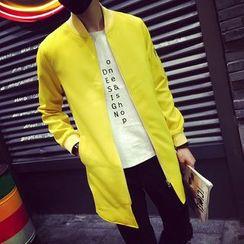 Bay Go Mall - Long Baseball Jacket
