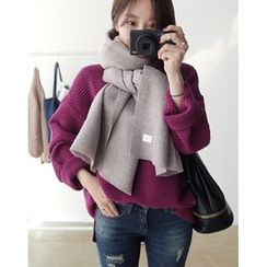 UPTOWNHOLIC - Colored Wool Scarf