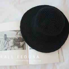 STYLEBYYAM - Knitted Fedora