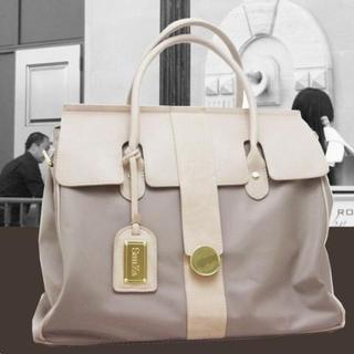 SunZa - Genuine Leather Shoulder Bag + Laptop Case