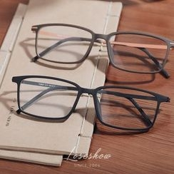 Lose Show - Rectangle Frame Glasses