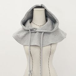 DANI LOVE - Hooded Brushed-Fleece Lined Neck Warmer
