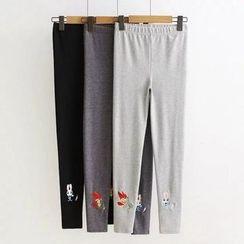 TOJI - Embroidered Leggings