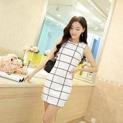 Neeya - Checked Tank Dress