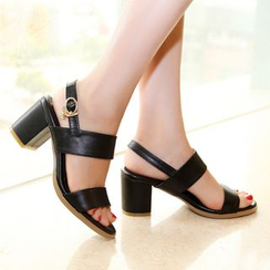 JY Shoes - Block Heel Sandals