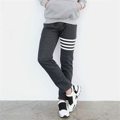 Smallman - Fleece-Lined Sweat Pants