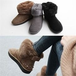 Reneve - Studded Short Snow Boots