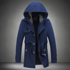 Blueforce - Detachable Hood Zip Coat