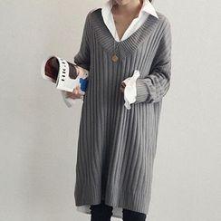 Cotton Candy - 罗纹针织连衣裙