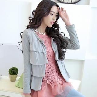 JVL - Studded Layered Jacket