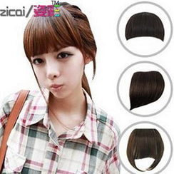 Aura Wigs - Clip-On Hair Fringe - Straight