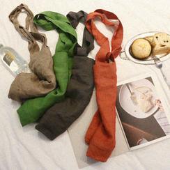 NANING9 - Linen Shopper Bag