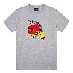 the shirts - Bird Print T-Shirt
