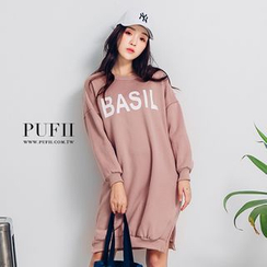 PUFII - Printed T-Shirt Dress