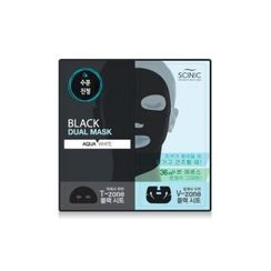 SCINIC - Black Dual Mask (Aqua White) 1pc
