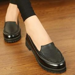 Mancienne - Stitched Loafers