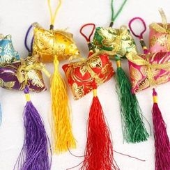 Golden Spindle - Rice Dumpling Sachet Hanging Ornament