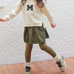 memene - Kids Inset Skirt Leggings