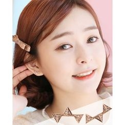 Miss21 Korea - Geometric Stud Earring (Single)