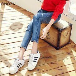 Onoza - Distressed Skinny Jeans