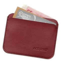 ACE COAT - Faux Leather Card Holder