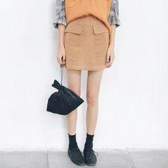 Porta - Corduroy Skirt
