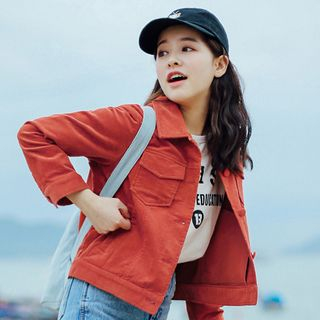 Hanayoshi - Corduroy Button Jacket