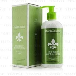 DermOrganic - Hand and  Body Moisture Lotion