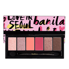 banila co. - Fall In Seoul Eye Shadow Palette (#01 Garosu Faminine)