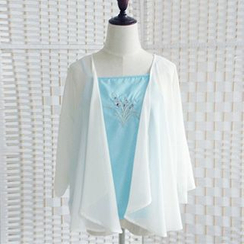 Rega - Light Jacket / Embroidered Camisole Top