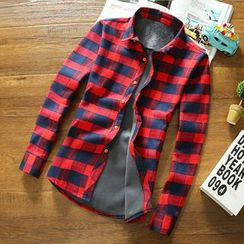 Kashen - Long-Sleeve Plaid Shirt