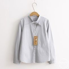 PANDAGO - Bow Collar Shirt