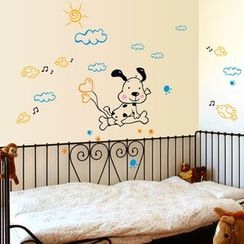LESIGN - Dog Non-marking Wall Stickers