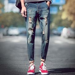 Gurun Vani - Distressed Jeans