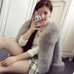 Ashlee - Furry Jacket