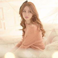 Tokyo Fashion - Single-Strap Off-Shoulder Sweater