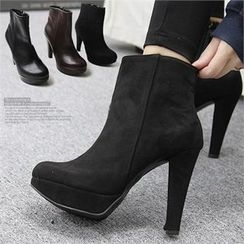 Reneve - Platform High-Heel Ankle Boots