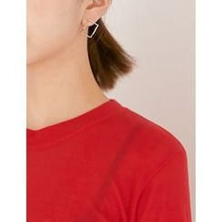 FROMBEGINNING - Cube Stud Earrings