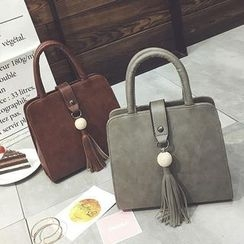 Diamante - Tasseled Handbag