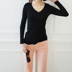 Lina - Plain Pullover