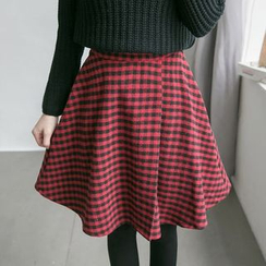Tokyo Fashion - Check A-Line Skirt