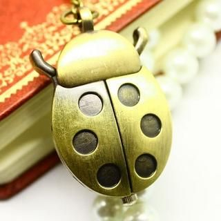 Miss Girl - Ladybug Pocket Watch